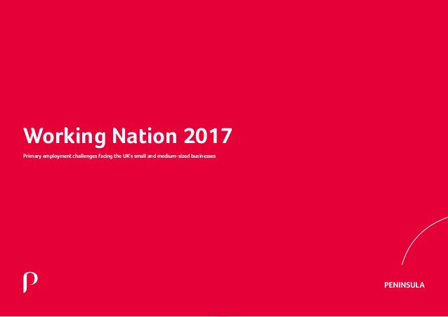 Peninsula Working Nation 2017