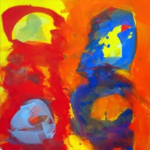 Exposition Art Blog: Josef Mikl - Art Informel - European Abstract Expressionism