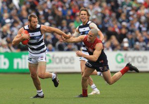AFL Premiership Live – Round 17 – Melbourne vs Geelong Cats – 12th July