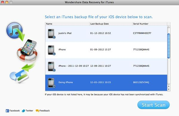 How-to - How to recover lost iPhone files from iTunes Backup Files on Mac