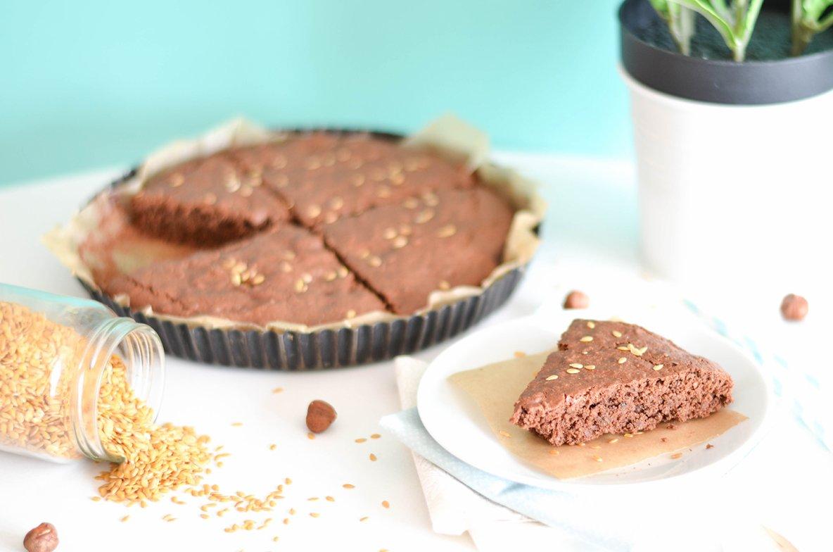 Vive le vegan ! Gâteau au chocolat vegan noisettes et healthy ... A la courgette !