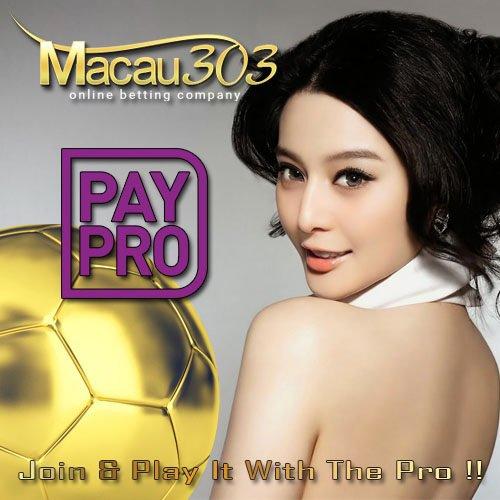 Deposit Taruhan Bola Online Via Paypro Di Macau303