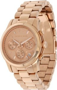 Michael Kors Rose Gold Runway Watch - Women's Watch MK5128 - The Best Items