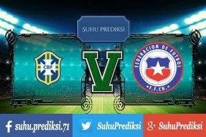 Prediksi Bola Brazil Vs Chile 11 Oktober 2017