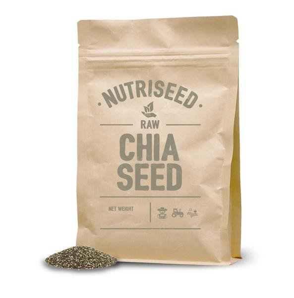 Chia Seeds, Organic, Vegan Friendly & Gluten Free