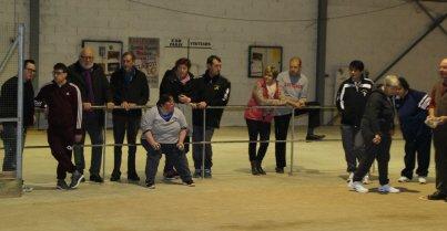 Pétanque sport adapté : le concours a réuni 36 triplettes