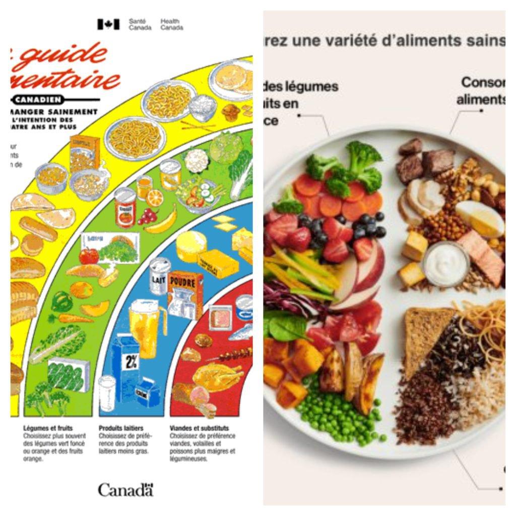 Le Nouveau Guide Alimentaire Canadien : Mangez des aliments variés et surtout des végétaux 😄