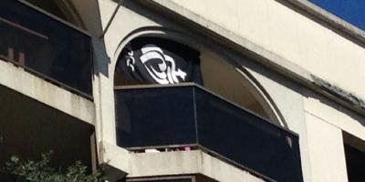 Ils croient photographier un drapeau de Daesh dans les rues de Nice