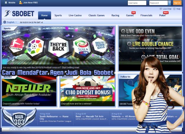 Cara Mendaftar Agen Judi Bola Sbobet | Main303 | Agen Bola Casino Tangkas Online Terbaik Indonesia