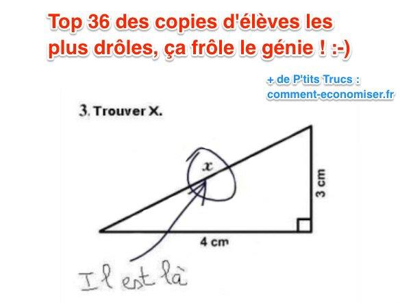 Top 36 des Copies d'Élèves LES PLUS DRÔLES, Ça Frôle le Génie !