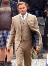 The Great Gatsby Suit | Leonardo Dicaprio Off white and Black Suits Collection