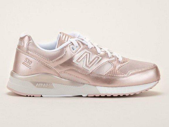 New Balance Sneakers WL530NFG rose métallique - Baskets Femme Monshowroom - Ventes-pas-cher.com