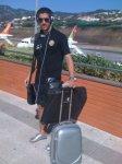 rafik halliche avant le match algerie-egypte a blida