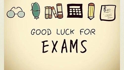 Bonne chance pour vos exams ! + Conseils pour bien réviser