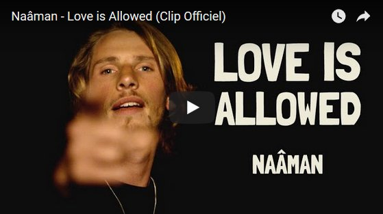 Naâman révèle un 3ème clip Love is Allowed, pour la sortie de son nouvel album Beyond. | Muzikomag