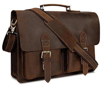 Top 5 Best HandmadeLeather Messenger Bags 2018 - Buyer's Guide (January. 2018)