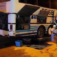 Fuite de carburant dans une station-service sur l'A1