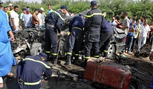 Maroc : 16 membres de la garde royale perdent la vie dans un accident de la circulation