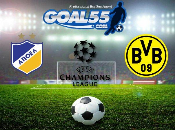 Prediksi APOEL Vs Borussia Dortmund 18 Oktober 2017