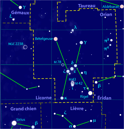 Orion (constellation) — Wikipédia