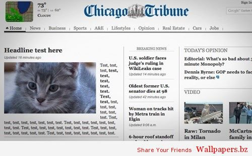 News FAIL of the Day: This Just in From The Chicago Tribune! | Funny Wallpapers