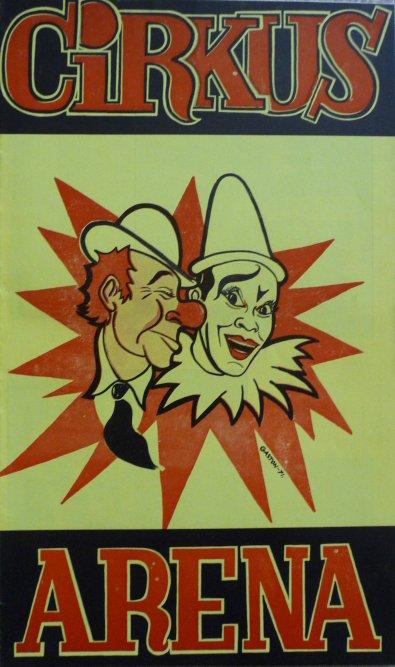 A vendre / On sale / Zu verkaufen / En venta / для продажи :  Programme cirkus ARENA 1976