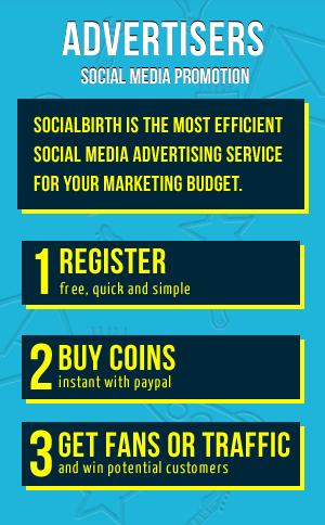 Social Media Advertising Network - SocialBirth