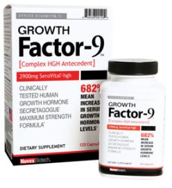 Growth Factor 9 By Novex Biotech – Ingredients Same As SeroVital?