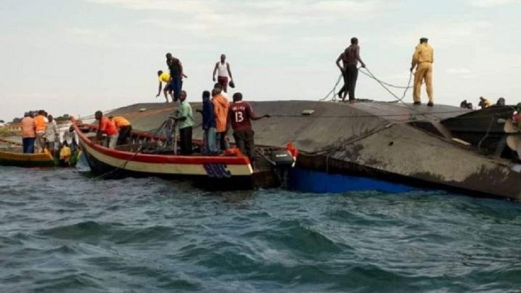 21-09-2018 - Tanzanie - Ukara - Ukerewe - Nauffrage du Ferry MV Nyerere  - Au moins 86 morts dans le naufrage d'un ferry sur le lac Victoria en Tanzanie
