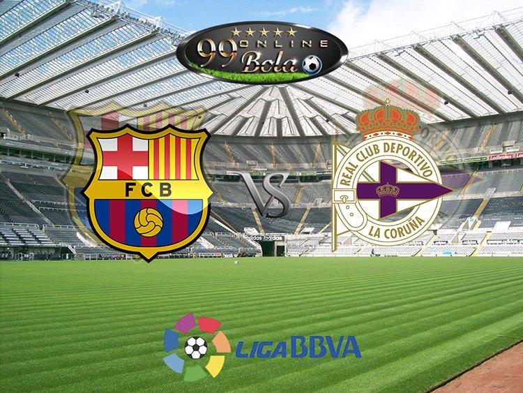 Prediksi Barcelona Vs Deportivo La Coruna 15 Oktober 2016