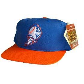 Casquette Neuve Ajustable Officielle MLB - NEW YORK METS Snapback - Visiere Plate - Casquette Bleue/Orange: Amazon.fr: Bienvenue