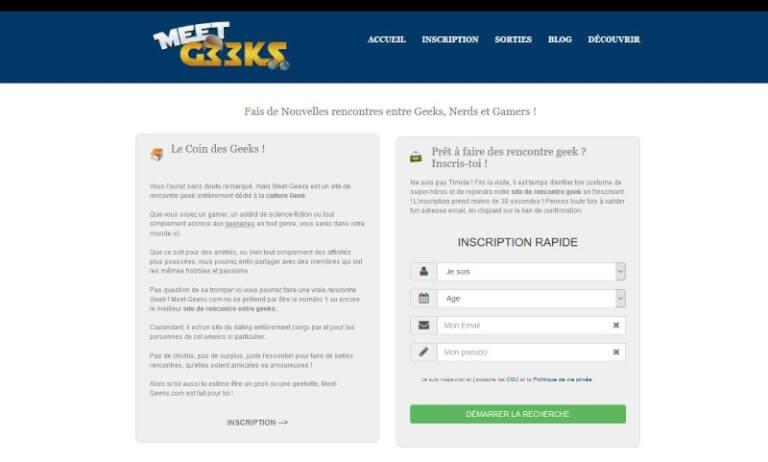 Meet-Geeks.com : Le site de rencontre entre Geeks et Geekettes - Comparatif Meilleur Site de Rencontres 2017