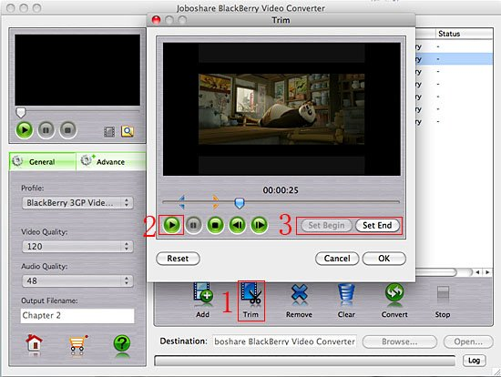 How-to - How to convert AVI to Blackberry 3GP video on Mac?