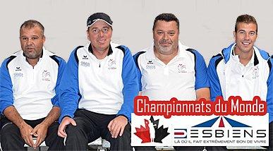 La dream team veut récupérer la couronne ! - Championnats du Monde de pétanque - ARTICLES sur la pétanque