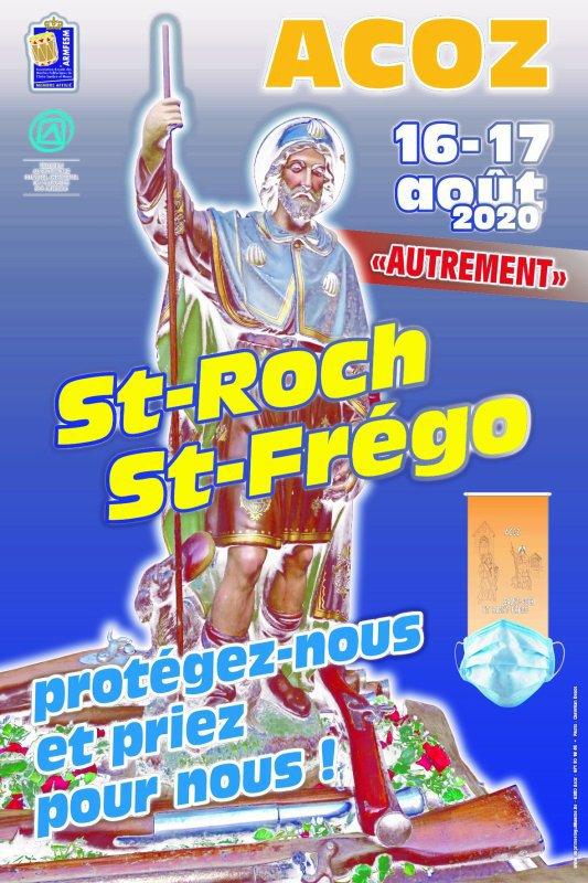 Marche Saint Roch et Saint Frégo d'Acoz Centre est annulee