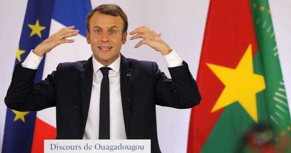 Quand la blague d'Emmanuel Macron sur un président africain passe mal