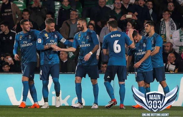 Highlights Pertandingan Real Betis VS Real Madrid 3-5