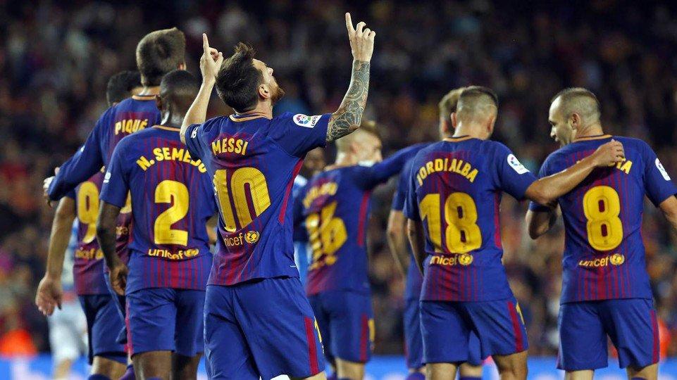 Kekuatan Barcelona Datang Dari Semua Pemain Bukan Hanya Messi