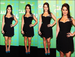""".17/05/12 : Jessica, toute jolie, a été vu à l'évènement """" The CW Network's Upfront"""" à New York.Comme presque tout le Cast de la série 90210 Beverly Hills, Jessica Lowndes y était..."""