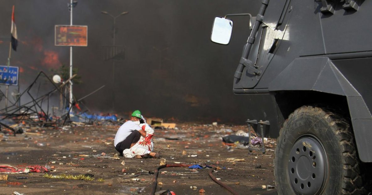 The Rab'a Massacre and Mass Killings of Protesters in Egypt | HRW