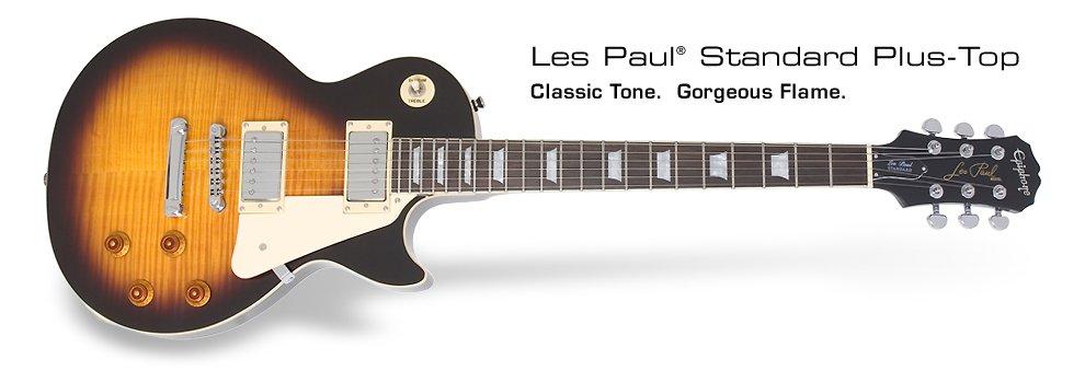 Epiphone - Les Paul Standard Plus Top Vintage Sunbrust, Ma gratte