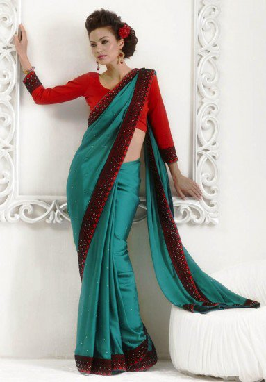 Indian designer saree add importance in wedding seasons