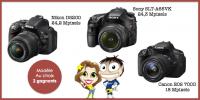 Aidez Ganegane56  gagner 1 Appareil photo Reflex au choix : CANON EOS 700D, NIKON D5200 et SONY SLT-A65VK sur Weetix !