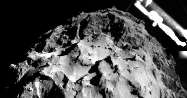 Mission Rosetta : Philae posé sur la comète, mais pas harponné