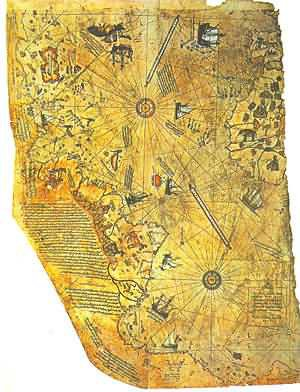 UNEXPLAINED MYSTERIES - PIRI REIS MAP