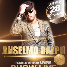 Vente Place ( billet ) ★ ANSELMO RALPH SHOW LIVE ★ 1ÈRE FOIS À PARIS
