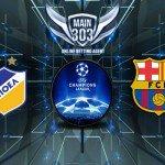 Prediksi Apoel vs FC Barcelona 26 November 2014 UEFA Champio