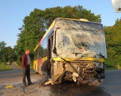 Sohier - Collision entre un bus du TEC et un camion...