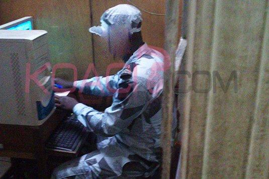 Côte d'Ivoire: Un policier surpris en plein broutage