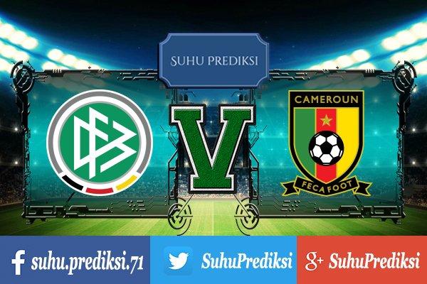 Prediksi Bola Jerman Vs Kamerun 25 Juni 2017